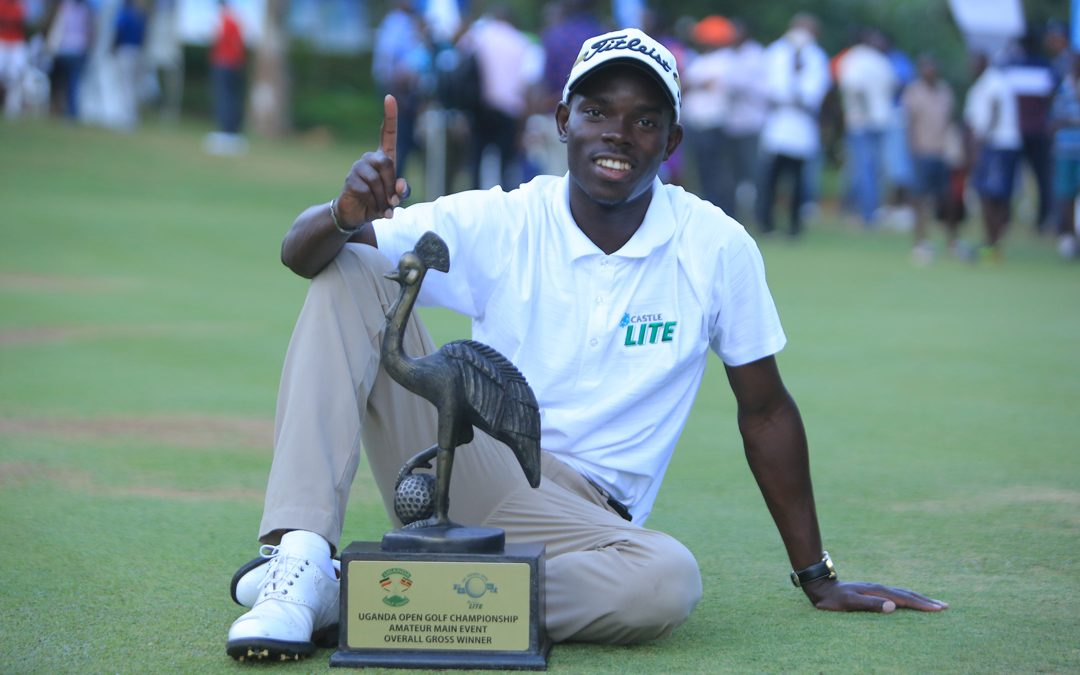 Golfers on the Rise: Ronald Otile Wins Third Uganda Open